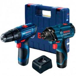 Taladro + Atornillador De Impacto Bosch GDR + GSR 120 LI 12V