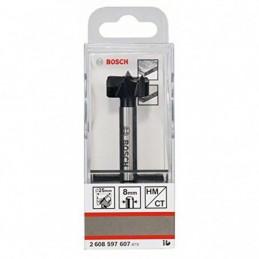 Broca Madera Bisagra Bosch 25mm 2608597607 bidimensional para MDF, Melamina, etc