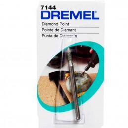 """Fresa de Diamante Dremel 7144, 3/32"""" 2.4mm Conico tallar y Grabar"""