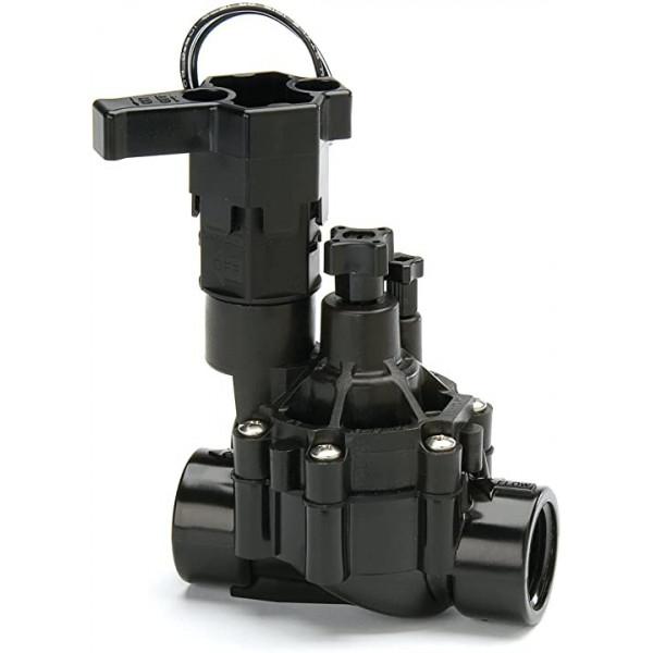Valvula de Riego ElectroValvula Serie DVF 1 Pulgadas 24 VAC NPT Hembra, Para Automatizar Riego, 100DVF Rain Bird
