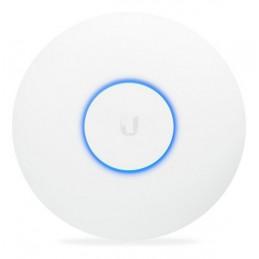 UniFi Ubiquiti UAP-AC-LR, Indoor 2.4/5 Ghz, doble Banda 24dBm 3x3 MIMO 450Mbps, antena 3dBi, Incluye POE