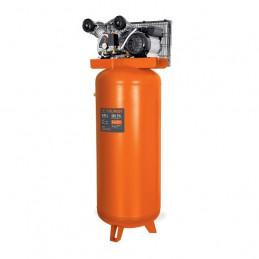 Compresora de Aire de 4HP 240L Vertical, Uso Ininterrumpido Arranque Automatico, Truper COMP-240LVC 102130