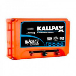Cerco electrico Ganadero Hagroy Hagroy KALLPAX Electrificador 30km 3J 220VAC IP55