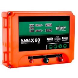 Cerco electrico Ganadero Hagroy Hagroy DUAL NANAX-80D Electrificador 80km 3Niveles Dual 220V 12VDC