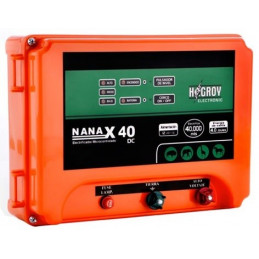 Cerco electrico Ganadero Hagroy NANAX-40D Electrificador 40km 3Niveles Dual 220V 12VDC