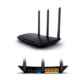 Router Ethernet Wireless TP-Link TL-WR940N, 450 Mbps, 2.4 GHz, 5 dBi, 802.11 b/g/n