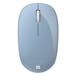 Mouse Inalambrico Microsoft, 1000dpi, Bluetooth 2.4GHz, Azul Pastel