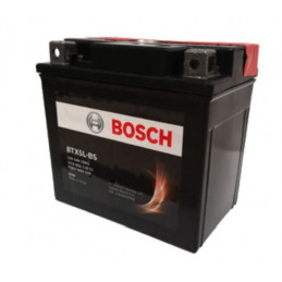 Bateria Motocicleta Bosch 4AH 12V BTX5L-BS(YTX5L-BS) - + 70A CH288 AGM BorneCubo 11.3x7x10.5cm