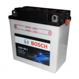Bateria Motocicleta Bosch 9AH 12V 12N9-4B-1 - + 85A CH120 BorneOreja 13.5x7.5x13.9cm