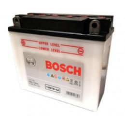 Bateria Motocicleta Bosch 7AH 12V 12N7B-4A + - 70A CH180 BorneOreja 15x6x13cm