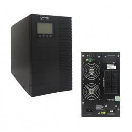 UPS Elise UDC-3K-T-G2, On-Line, 3kVA, 2.7KW, 100V-300VAC, Display LCD