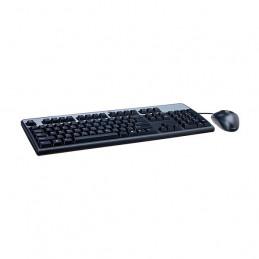 Kit Teclado y Mouse HPE 631341-B21, USB,Negro, Español, Óptico