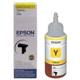 Tinta en Botella Epson L200 Amarillo T664320, Impresoras L110 L200 L210 L220 L310 L350 L355 L375 L555 L375 L575 L1300