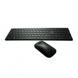 Kit Teclado y Mouse inalambrico Microsoft Designer, Bluetooth, Bluetrack, negro