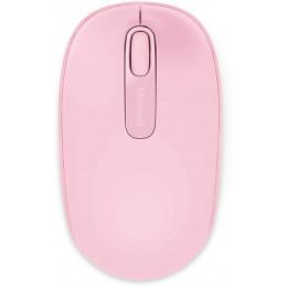 Mouse óptico inalámbrico Microsoft Mobile 1850, 1000dpi, Receptor USB, 2.4GHz, Rosado
