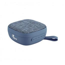 Mini Parlante Xtech XTS-600 3W 10H con Bluetooth Microfono Azul