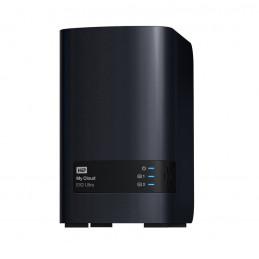 Unidad de almacenamiento en red Western Digital My Cloud EX2 Ultra, 8 TB, 2 bahias, LAN