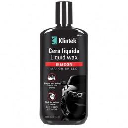 Cera Liquida Liquid Wax 473ml, Silicona Mayor Brillo y proteccion UV, EA-32 57088 Klintek