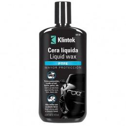 Cera Liquida Liquid Wax 473ml, Extra Plastico PTFE Brillo y Extra proteccion Pintura UV, EA-32 57089 Klintek