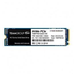 Unidad de estado solido Teamgroup MP33 M.2 PCIe SSD, 512GB, DC +3.3V