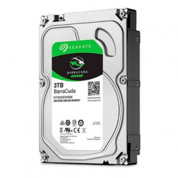 """Disco duro Seagate Barracuda ST3000DM007, 3TB, SATA 6.0 Gbps, 5400 RPM, 3.5"""""""