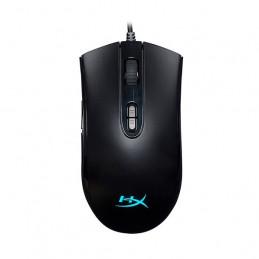 Mouse Gamer Kingston HyperX Pulsefire Core, 6200 dpi, ergonómico, Negro, 7 botones, USB