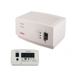 Regulador de voltaje APC LE-1200I, 1200VA, 220V, 4 tomacorrientes C13.