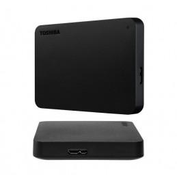 Disco duro externo Toshiba Canvio Basic, 2TB, USB3.0, 2.5 Negro