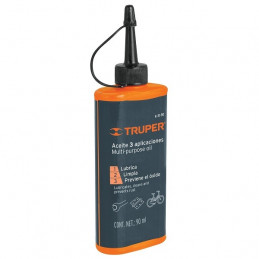 Aceite Lubricante Multiusos Protege Oxidacion y corrosion para metal 90 ml, A-31-90 16712 Truper