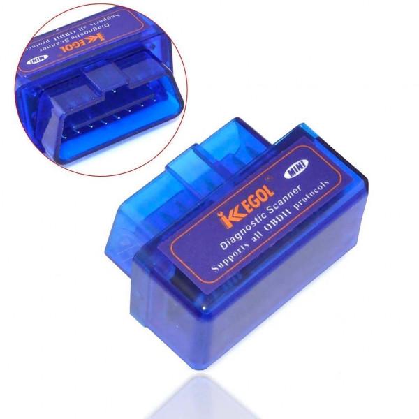 ERUSUN v1.5 Bluetooth Mini Small Interface OBD2 Scanner Adapter