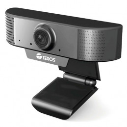 Camara web Teros TE-9070, hasta 1080p 2MP, microfono incorporado, USB 2.0