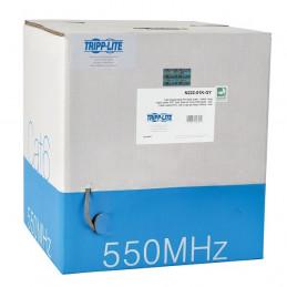 Cable UTP en rollo Tripp-Lite N222-01K-GY, CAT6, Gigabit, 4 pares, 24 AWG, Gris, PVC