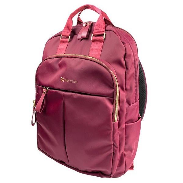 "Mochila Klip Xtreme KNB-468RD Toscana Para portatiles de hasta 15.6"" Rojo"