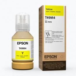 Tintas Botella Epson T49M120 Amarillo Dye-Sublimation 140m T49M