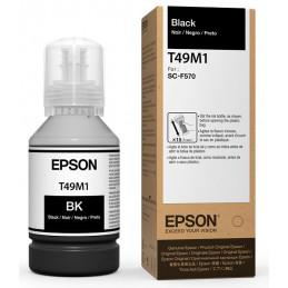 Tintas Botella Epson T49M120 Negro Dye-Sublimation 140m T49M