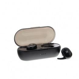 Earphones Twinbuds inalambricos Klip Xtreme KHS-706BK bluetooth5.0 TWS Negro
