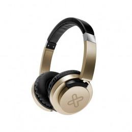 Auriculares On-ear Klip Xtreme KHS-851GD AkoustikFX 3.5mm 25mw