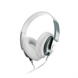 Auriculares On-ear Klip Xtreme KHS-550WH Obsession 3.5mm Blanco