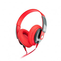 Auriculares On-ear Klip Xtreme KHS-550RD Obsession 3.5mm Rojo