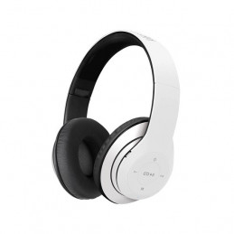 Auriculares On-ear Inalambrico Klip Xtreme KHS-628WH Pulse con mic Blanco