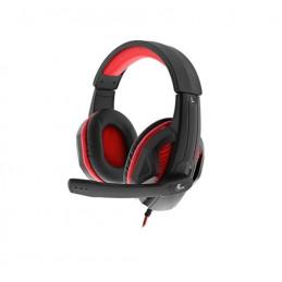 Auriculares On-ear Xtech XTH-551 Igneus stereo iluminados para videojuegos