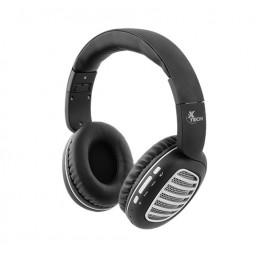 Auriculares On-ear Xtech XTH-630SV Palladium con microfono