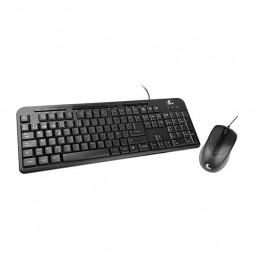 Kit Teclado Mouse USB Xtech XTK-301S multimedia en español