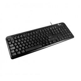 Teclado USB Xtech XTK-130 multimedia en español Negro