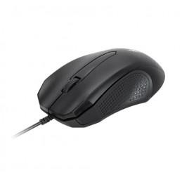 Mouse Usb Xtech XTM-165 1000dpi 3 botones con cable Negro