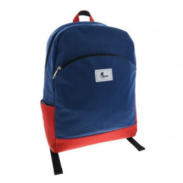 Mochila Xtech XTB-500 Sori Mochila escolar para laptop 15.4 Azul y rojo