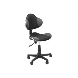 Silla Secretarial Xtech AM160GEN96 QZY-G2B - Office Chair Black Gray Cannes