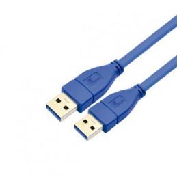 Cable USB Xtech XTC-352 USB-A de macho a macho 1.8m