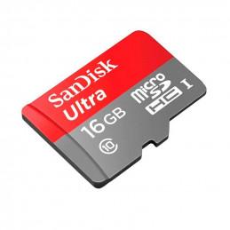Memoria Flash microSDHC SanDisk Ultra A1, Class10, UHS-I, 16GB