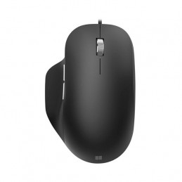 Mouse USB Microsoft Ergonomic 1000dpi 5 botones Negro
